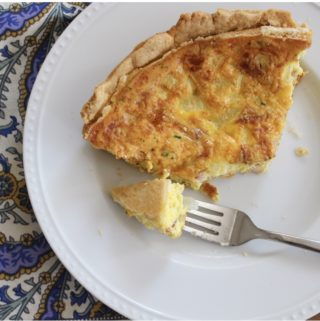 Bacon Breakfast Quiche